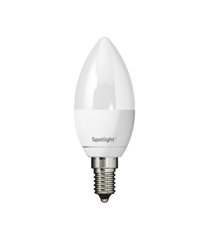 ΛΑΜΠΑ LED E14 C35 5W BULB 6000K 230V ΛΕΥΚΟ ΗΜΕΡΑΣ